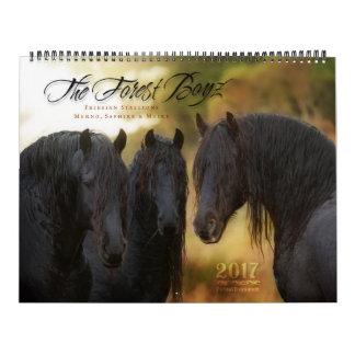 2017 Forest Boyz Calendar