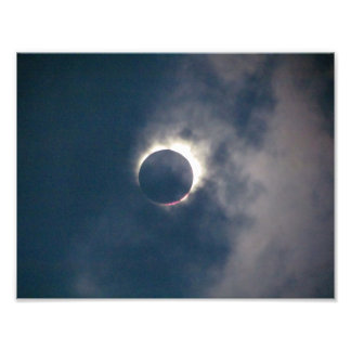 2017 Full Solar Eclipse Photo Print