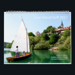 """2017 Goat Island Skiff Calendar - Worldwide<br><div class=""""desc"""">12 wonderful photos of Goat Island Skiff sailboats around the world. USA,  Poland,  Slovenia,  Italy,  Norway,  Greece and more.  These are the best photos of 130 candidates gathered through the year and voted for on facebook.  Seascapes,  Rivers,  boat building,  light winds strong winds.</div>"""