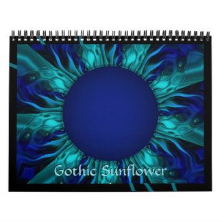 2017 Gothic Sunflower Calendar of Art