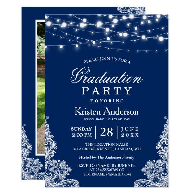 Personalized High School Graduation Invitations CustomInvitations4U.com