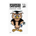 2017 Graduation Wise Old Owl Cap Diploma Postage