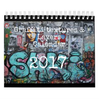 2017 Graffiti calendar