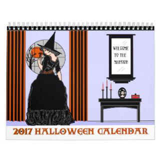 2017 Halloween Calendar