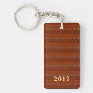 2017 happy NEWYEAR Template editable TEXT Keychain