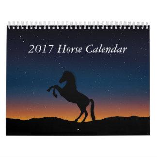 2017 Horse Calendar