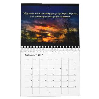 2017 Inspirational Quote Calendar