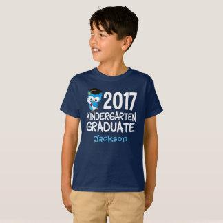2017 Kindergarten Graduation Cool Custom T-Shirt