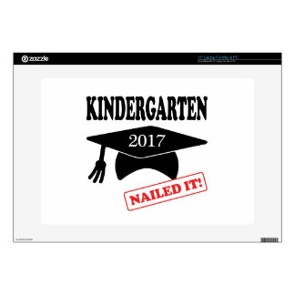 "2017 Kindergarten Nailed It 15"" Laptop Decal"
