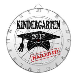 2017 Kindergarten Nailed It Dart Board