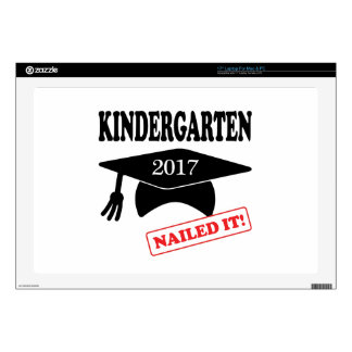 2017 Kindergarten Nailed It Decal For Laptop