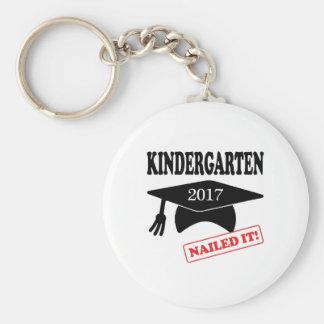 2017 Kindergarten Nailed It Keychain
