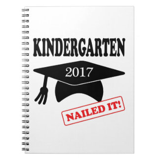 2017 Kindergarten Nailed It Notebook