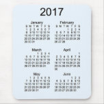 2017 Large Print Calendar by Janz Mouse Pad