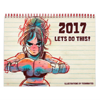 "2017 ""Let's Do This!"" Calendar"