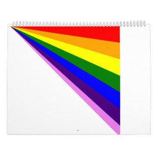 2017 Linear Rainbows Calendar