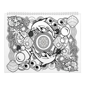 2017 Mandala calendar