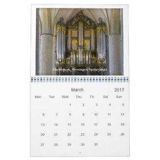 2017-Matter of Principals - pipe organ calendar