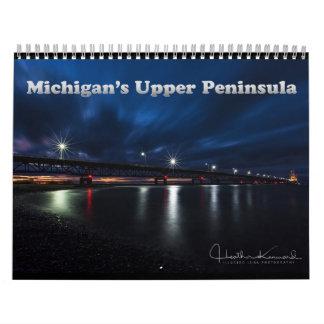 2017 Michigan's Upper Peninsula Calendar