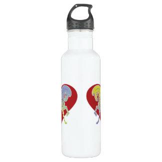 2017 Mink Mug Runequine Heart Medium Water Bottle