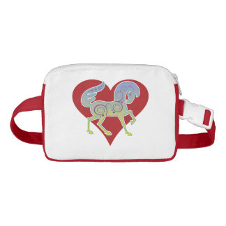 2017 Mink Tote Runequine Heart Fanny Pack 1