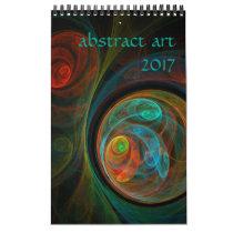 2017 Modern Abstract Art Calendar