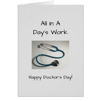 2017 National Doctors Day Card
