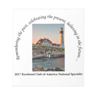 2017 National Logo Option #1 Notepad