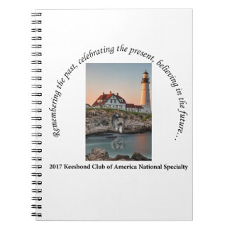 2017 National Logo Option #1 Spiral Notebook