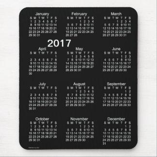 2017 Neon White Large Print Calendar by Janz Mouse Pad