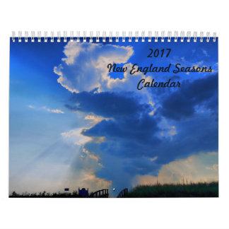 2017 New England Seasons Calendar