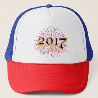 2017 New Years Eve Party Unique Fireworks Hat Cap