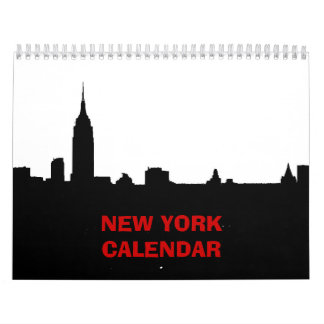 2017 New York Calendar (Black & White)