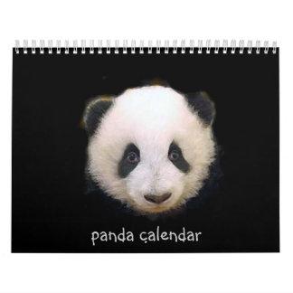 2017 Panda Calendar