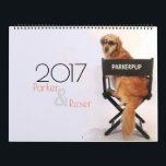 """2017 ParkerPup &amp; Reser Calendar<br><div class=""""desc"""">Enjoy America&#39;s celebrity Goldens,  Parker &amp; Reser 365 days a year with inspirational messages and giggles. What&#39;s better than a Golden Retriever greeting you each morning? Two!</div>"""