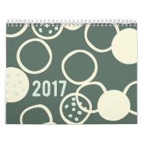 2017 Patterned Calendar