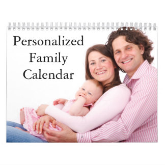 2017 Personalized Family Calendar