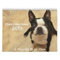 2017 Pheelosophees Calendar