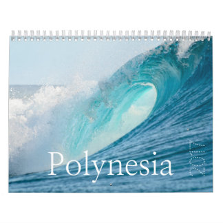 2017 Polynesia calendar