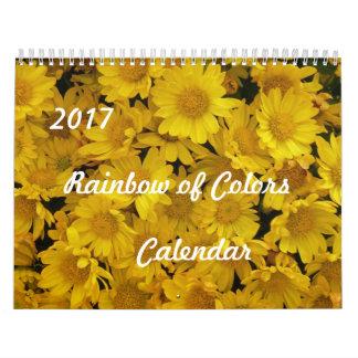 2017 Rainbow of Colors Calendar