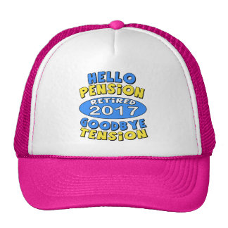 2017 Retirement Trucker Hat