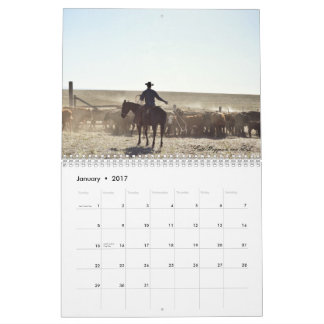 2017 Rocking Lazy A Photography Calendar