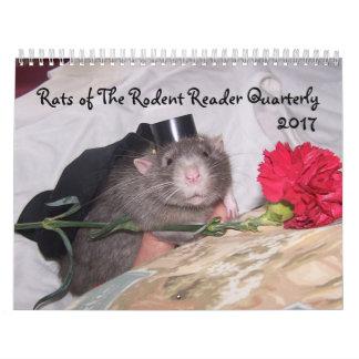 2017 Rodent Reader Calendar E