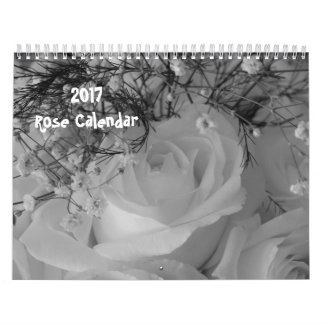 2017 -Rose Calendar-Taken back in time Calendar