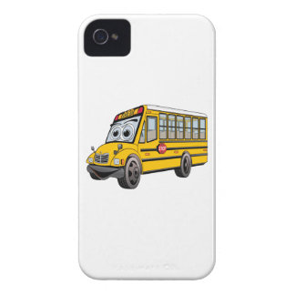 2017 School Bus Cartoon Case-Mate iPhone 4 Case