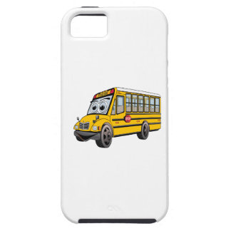 2017 School Bus Cartoon iPhone SE/5/5s Case