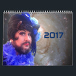 """2017 Science Fiction Non Binary Gay Drag Calendar<br><div class=""""desc"""">For the science fiction loving,  non binary affirming,  happy cross dresser (and their friends). Featuring LaQuisha St Redfern,  #SpaceStation1,  and everyone&#39;s favourite space kitty #cuddleUnit5</div>"""
