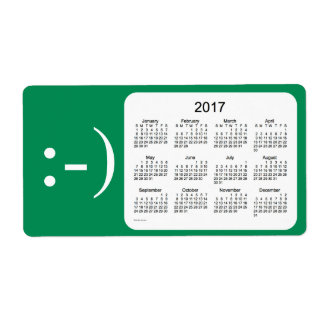 2017 Sea Green Calendar by Janz Label