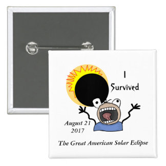 2017 Solar Eclipse Survival Edition Button