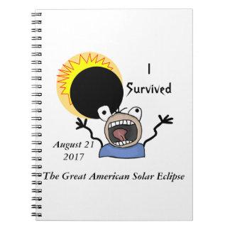2017 Solar Eclipse Survival Edition Notebook